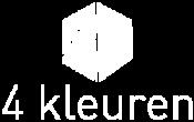 4 kleuren logo in zwart / wit