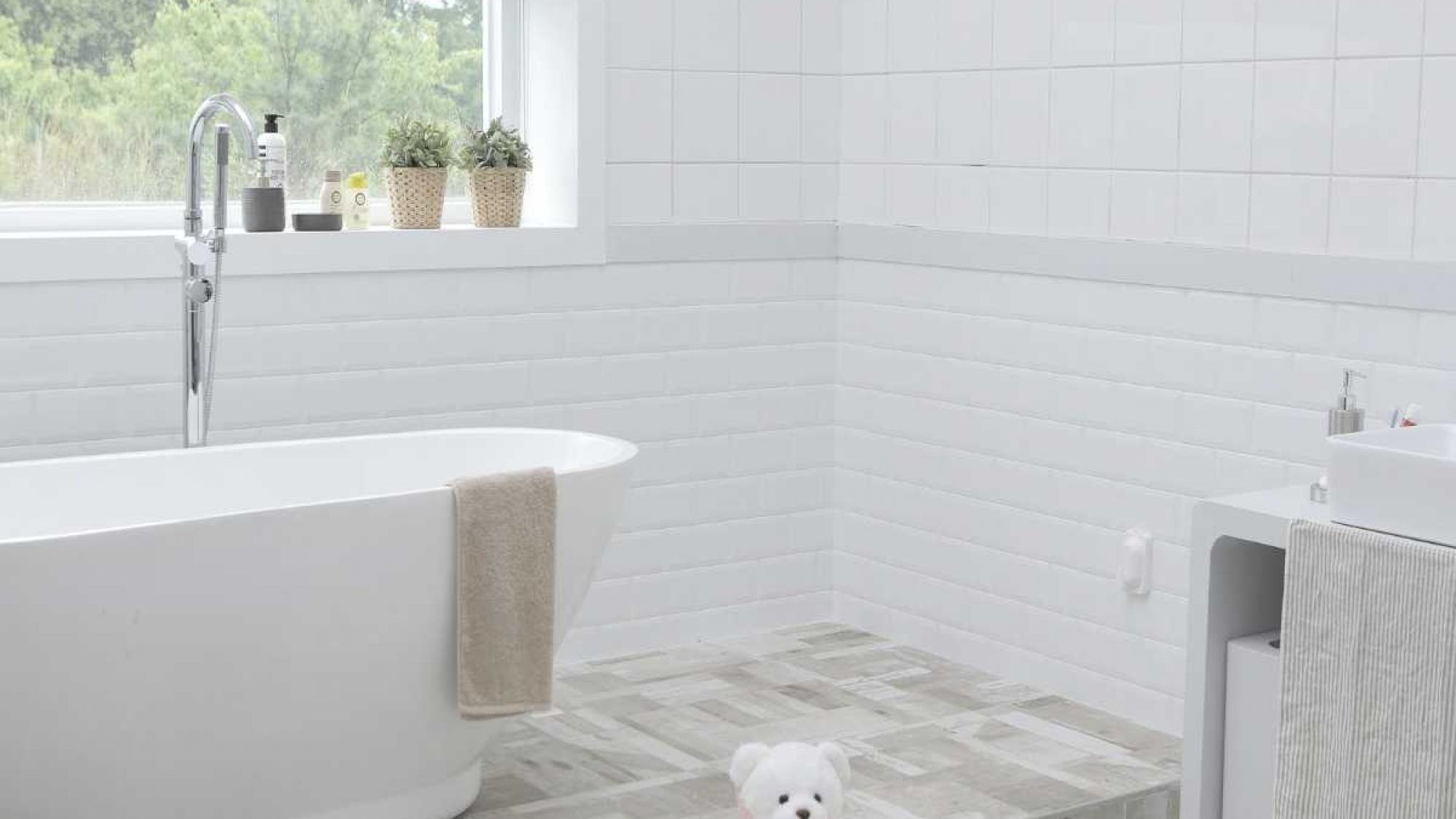 Afbeelding van een badkamer in 2022